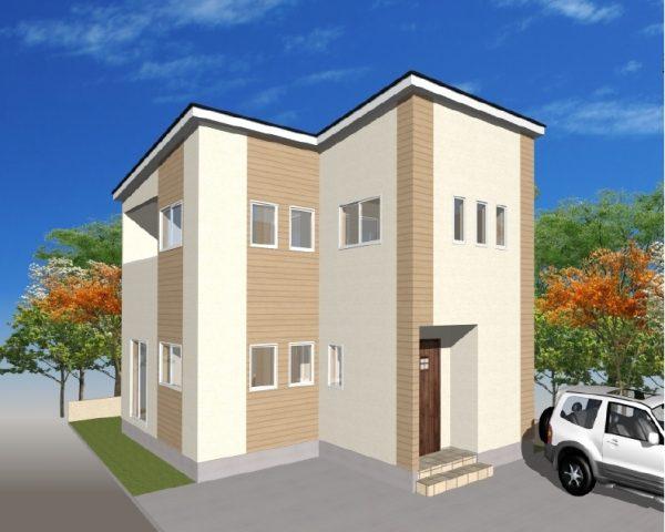 土崎モデルハウス外観イメージ